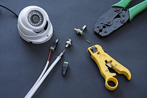 How to Install Security Camera Wiring?